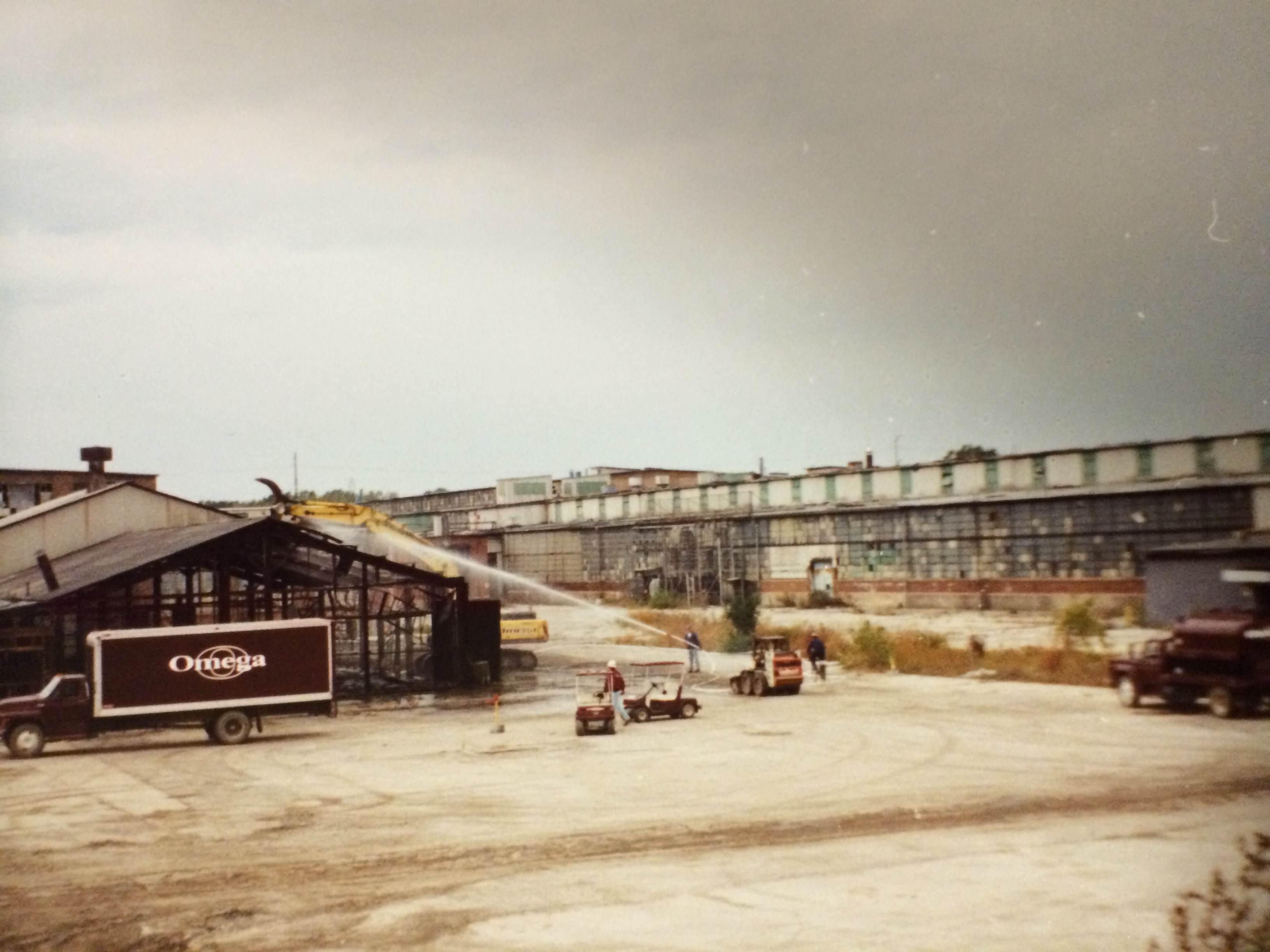Omega Demolition Johns Manville Plant